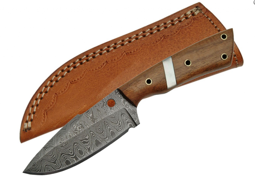 No. 0186 Damascus Knife