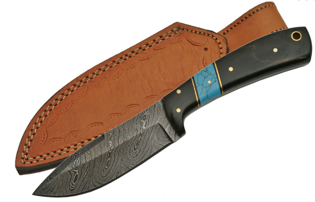 No. 0199 Damascus Steel Hunting Knife