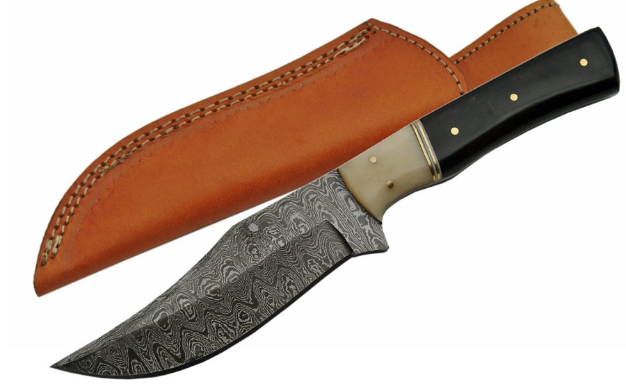 No. 002 Damascus Knife