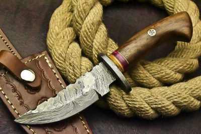 Damascus Knife 373-2